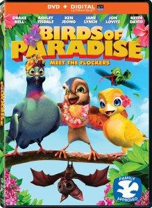 Birds of Paradise DVD Box Art