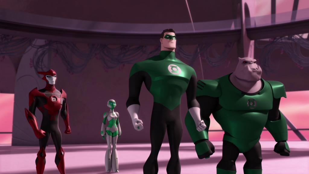 Amazon. Com: green lantern: the animated series [blu-ray]: green.