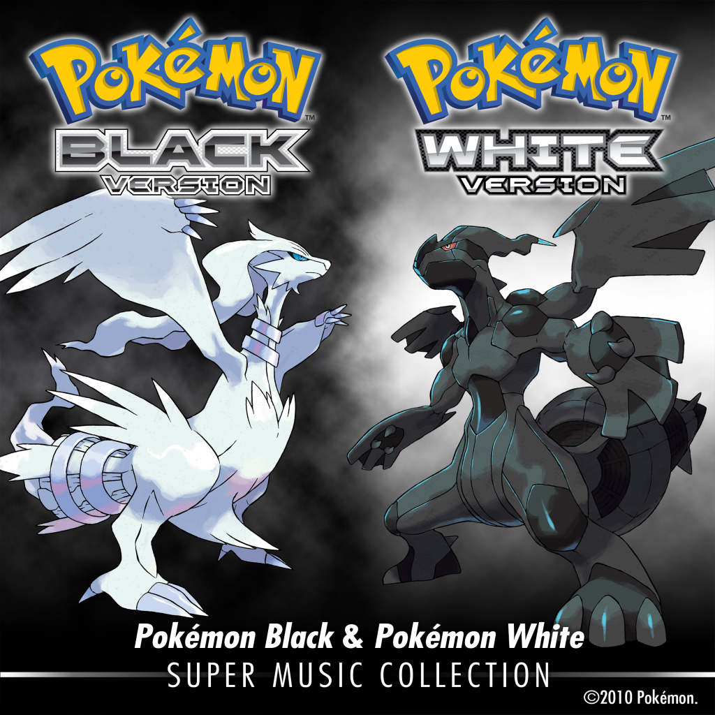 Pokémon Super Music Collection Black and White