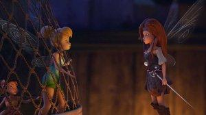 Tinker Bell and Zarina in The Pirate Fairy