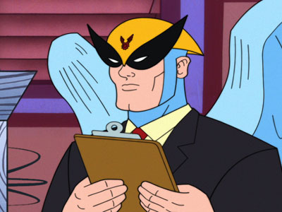 His reincarnation as Harvey Birdman: Attorney at Law for Adult Swim nearly 15 years ago.