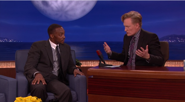 Anthony Mackie on Conan O'Brien