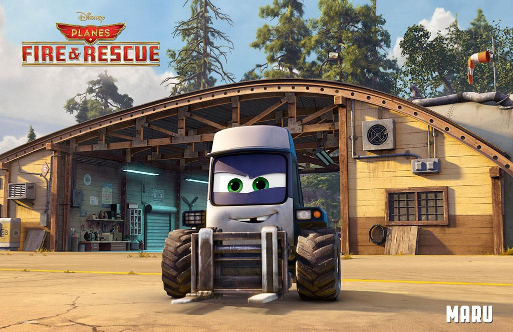 Planes Fire and Rescue Maru