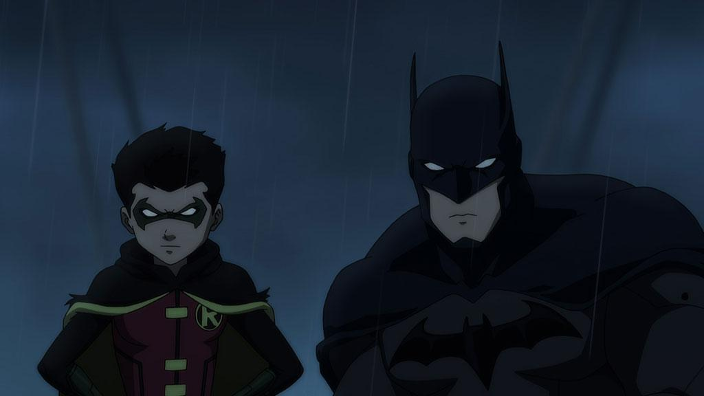 Son of Batman Batman and Damian