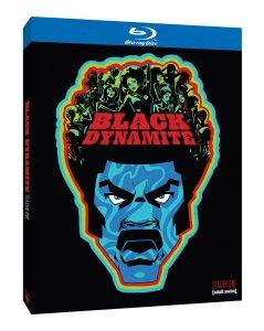 Black Dynamite Season One Blu-ray Box Art
