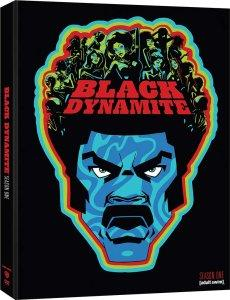 Black Dynamite Season One DVD Box Art