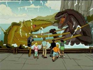 Godzilla the Series Jamaica Fight