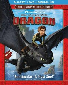 How to Train Your Dragon Deluxe Edition Combo pack art