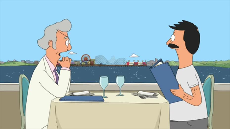 Bob inadvertently convinces Mr. Fischoeder to sell the Wonder Wharf.