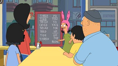 Linda, Teddy and the kids try and decipher Bob's text to Linda.
