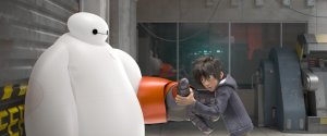 Big Hero Six Baymax and Hiro Hamada