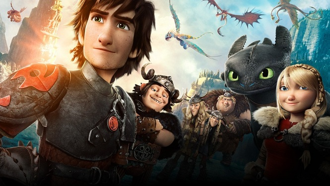 How to Train Your Dragon 2 Thumbnail Splash Image