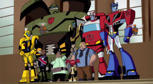 Transformers Animated Autobot Cast