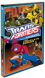 Transformers Animated Complete Series Box Art