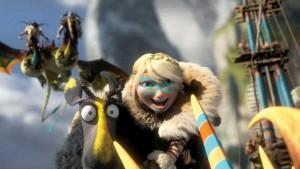 How to Train Your Dragon 2 Astrid (and friend)
