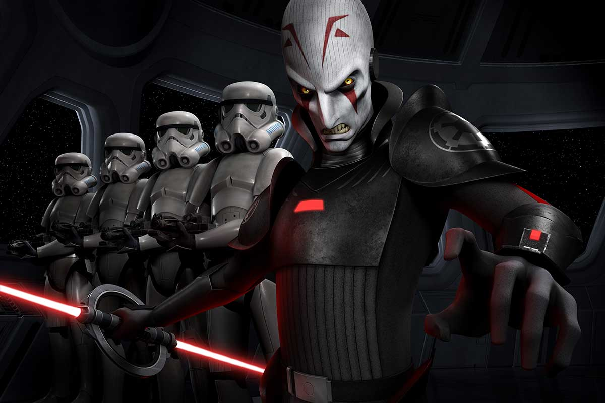 Star Wars Rebels Imperial Inquisitor Jason Isaacs