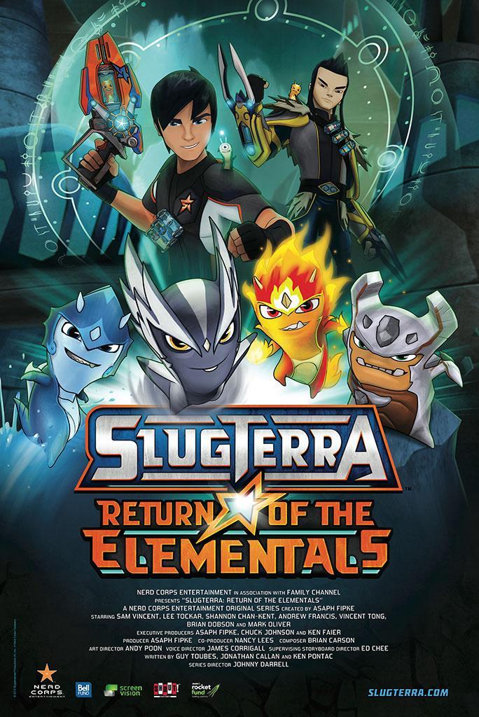 Slugterra Return Of The Elementals Coming To Cinemas On