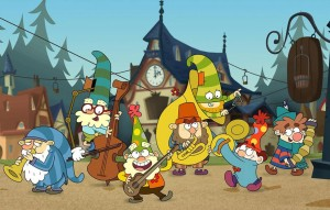 Disney's The 7D cast