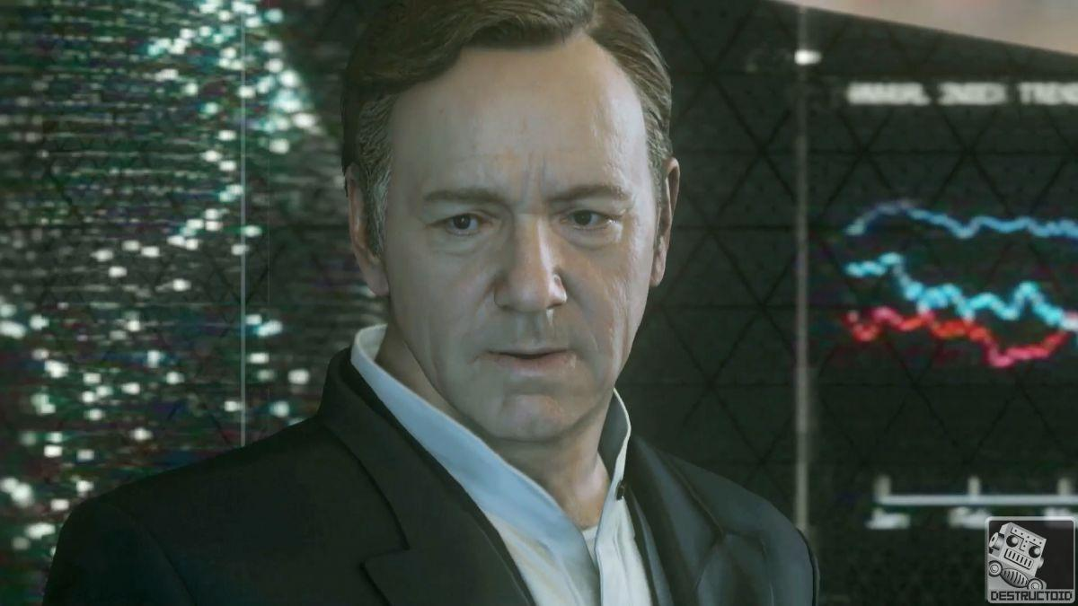 Kevin Spacey in Advanced Warfare