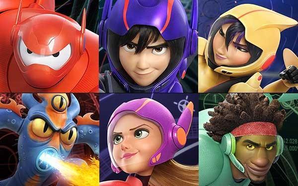 Big Hero 6 Anime Characters : Walt disney animation studios unleashes quot big hero voice