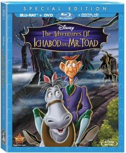 Adventures of Ichabod and Mr. Toad Blu-ray