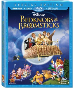 Bedknobs and Broomsticks Blu-ray Combo Pack