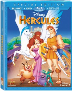 Disney's Hercules Blu-ray Combo Pack Art