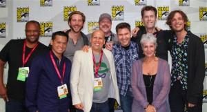 Batman: Assault on Arkham Cast at San Diego Comic-Con 2014