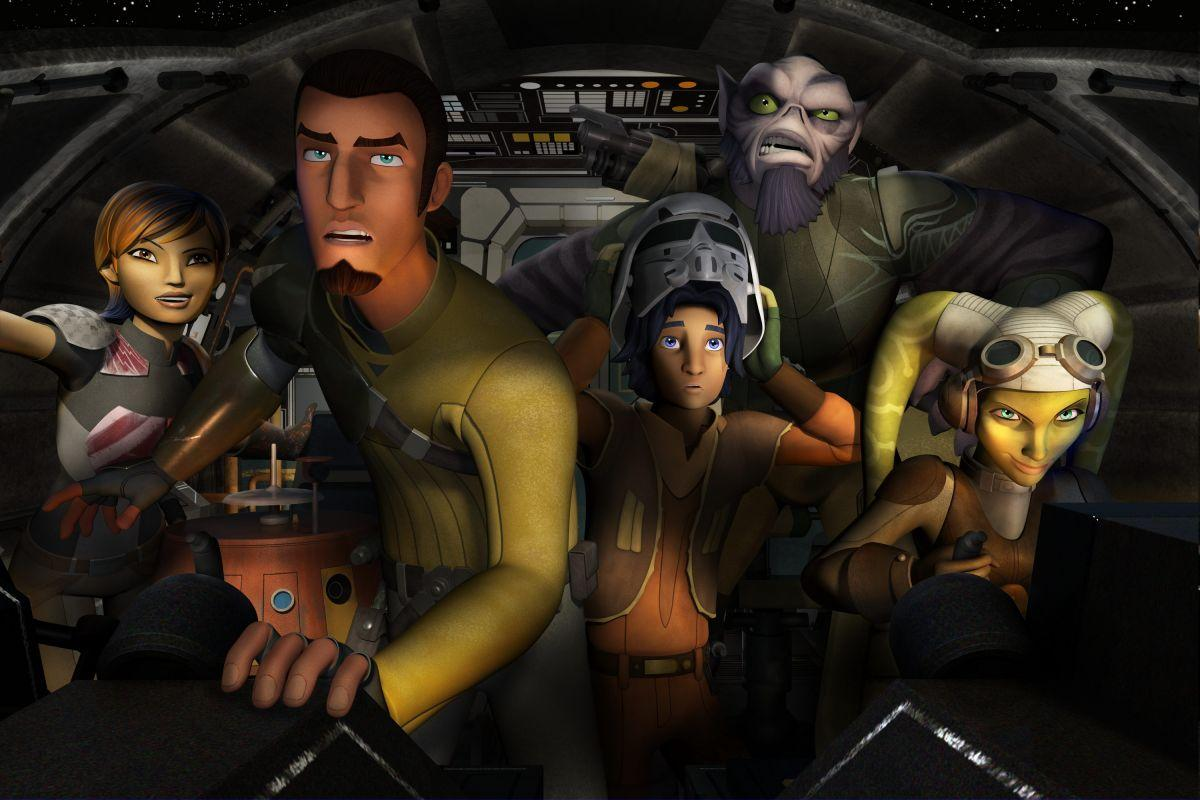 Star Wars Rebels Cast