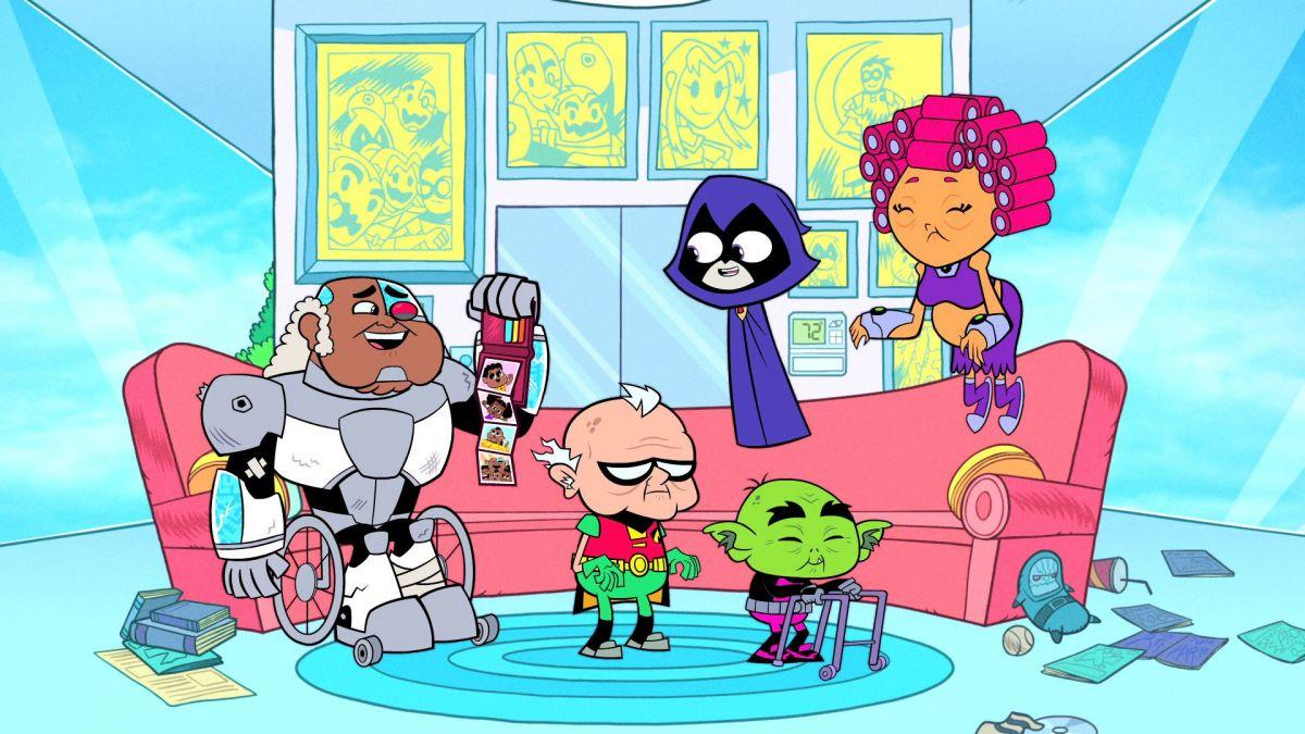 Teen Titans Go Salty Codgers