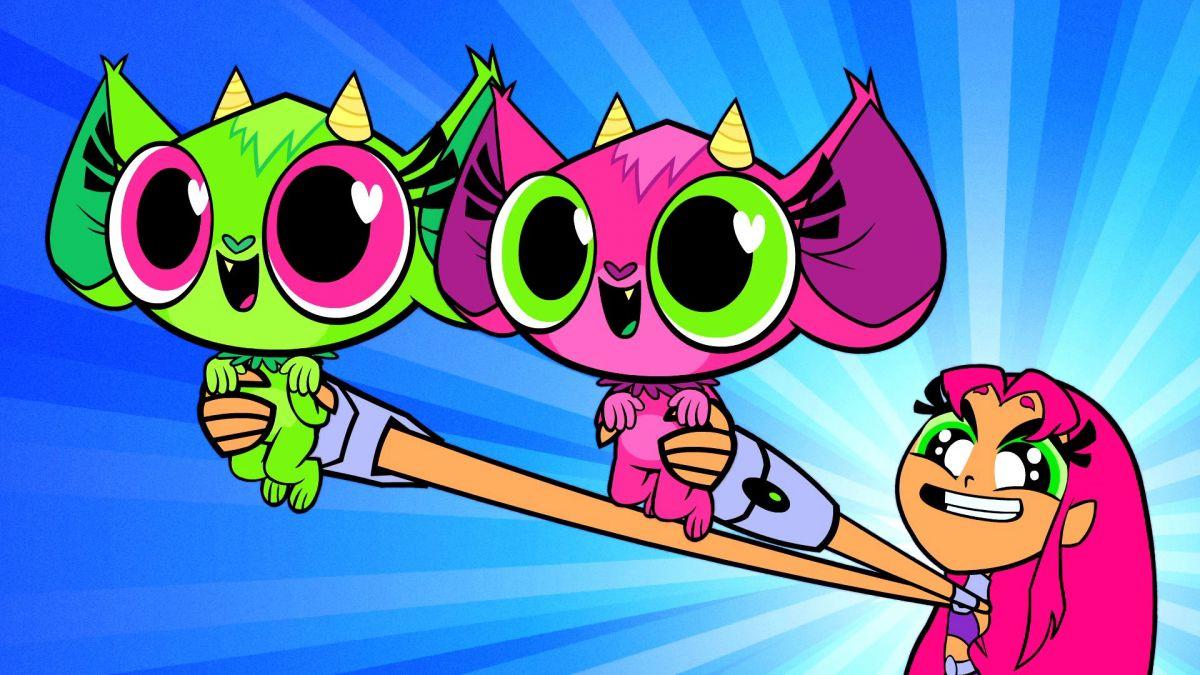 Teen Titans Go Love Monsters