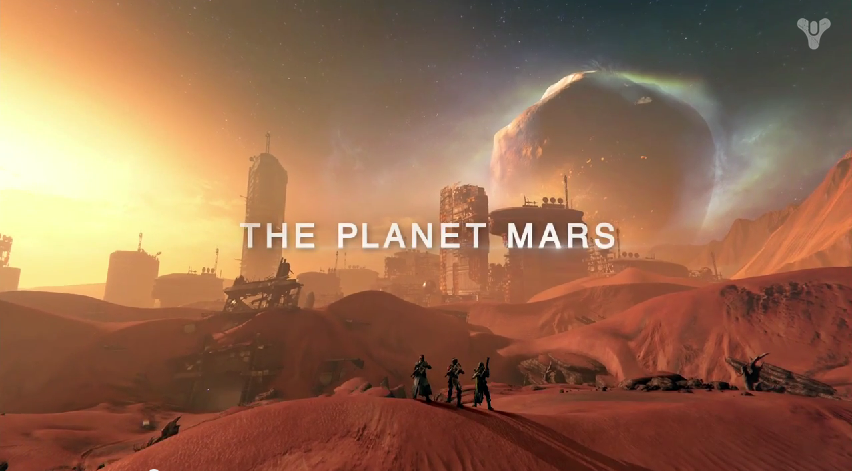 Destiny Mars Gameplay Trailer