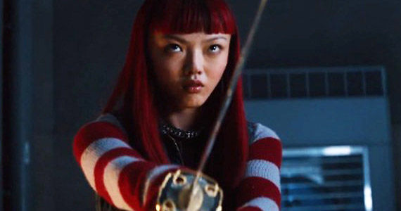 "Rila Fukushima as Yukio in ""The Wolverine""."