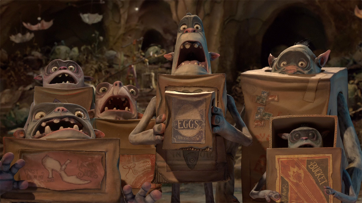 Boxtrolls Scream Aaaaah!