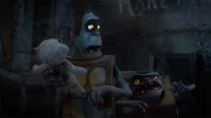 Fish and Shoe in The Boxtrolls