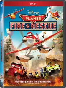 Planes Fire and Rescue DVD Box Art