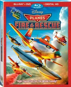 Planes Fire and Rescue Blu-ray Combo Pack Box Art