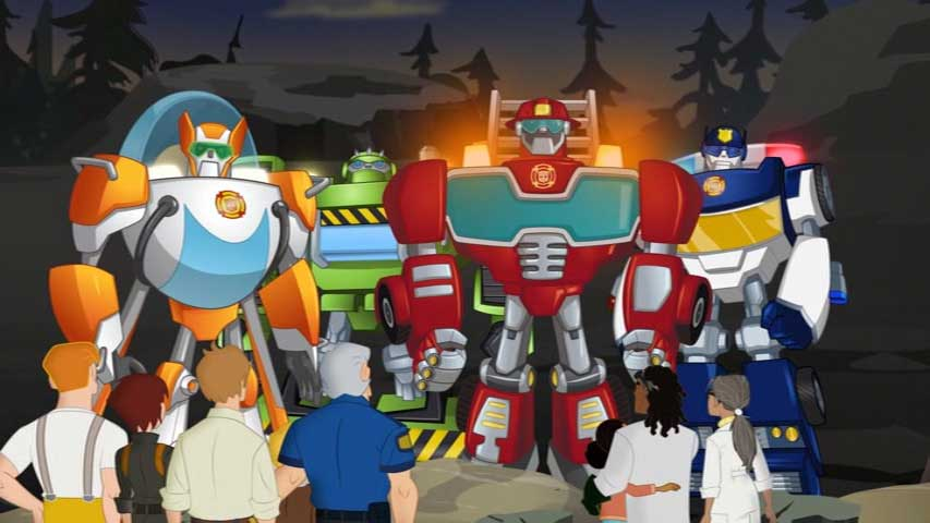 Transformers Rescue Bots Mystery Rescue Countdown