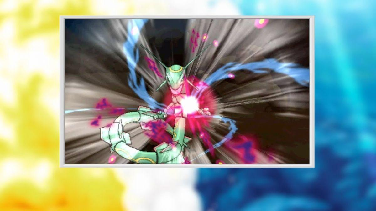 PR: Legendary Pokémon Rayquaza Confirmed For Pokémon Omega Ruby and Alpha Sapphire