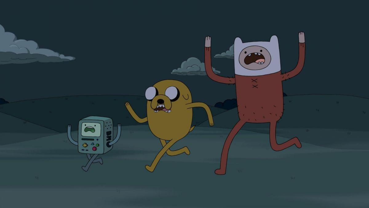 Adventure time season one episode 10 : The hunger games