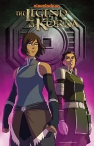 Legend of Korra Book 4 New York Comic Con 2014 Poster NYCC