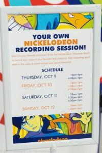 Nick VO Booth Schedule