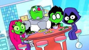 Teen Titans Go Vegetables