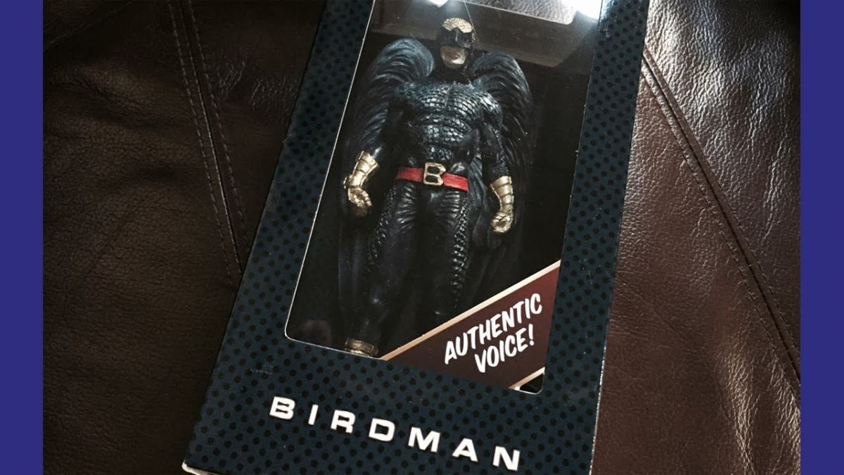 Birdman Action Figure Speaks - Straight, No Chaser