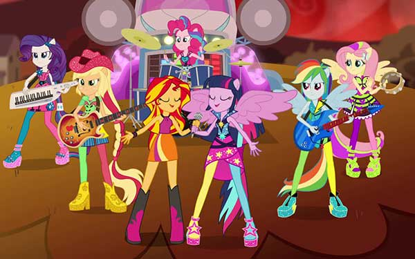Review Quot My Little Pony Equestria Girls Rainbow Rocks