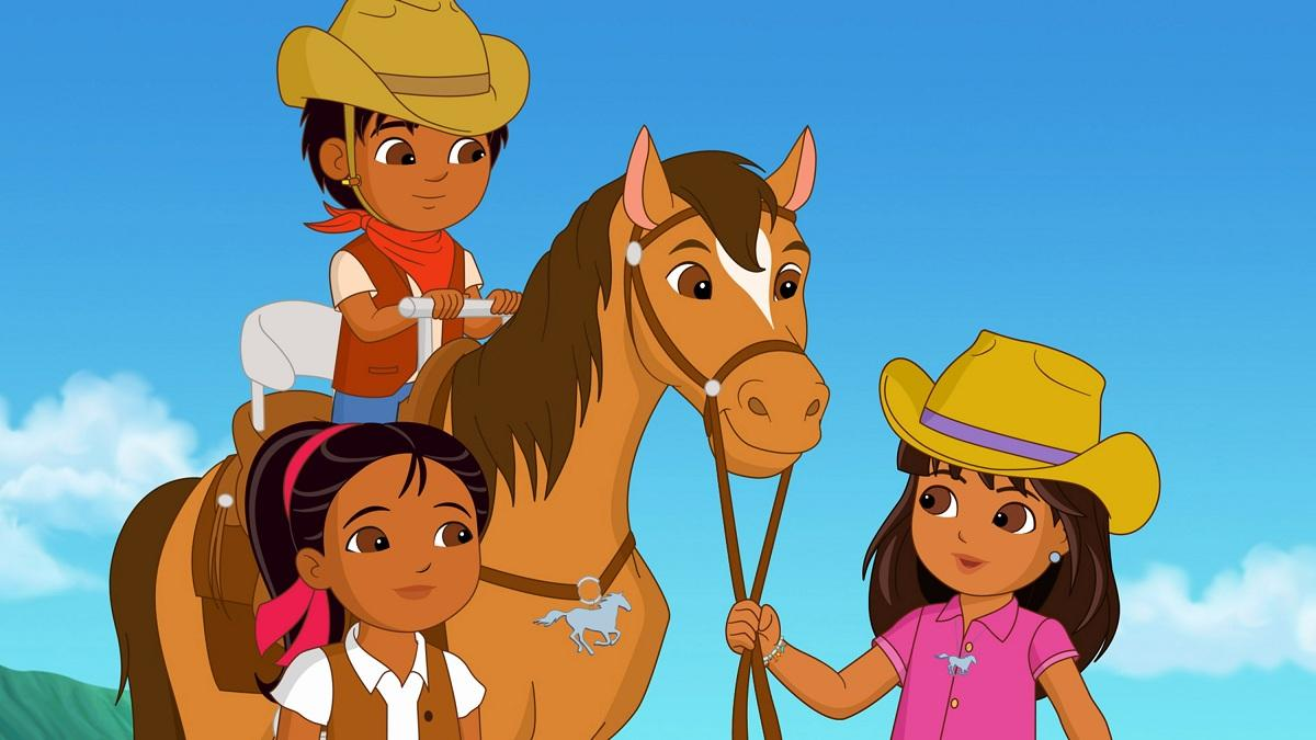 Dora and Friends Into the City Mystery of the Magic Horses