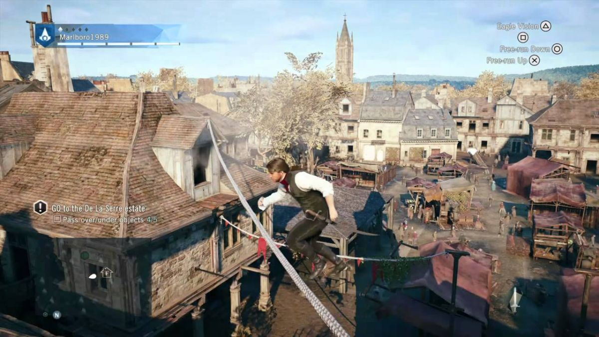 Assassin's Creed Unity Glitch #1