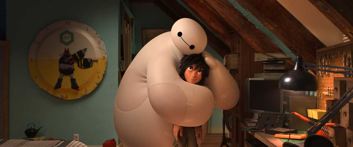 Big Hero 6 Hiro and Baymax There There