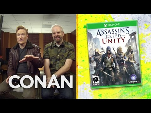 Conan O'Brien Reviews Assassin's Creed Unity
