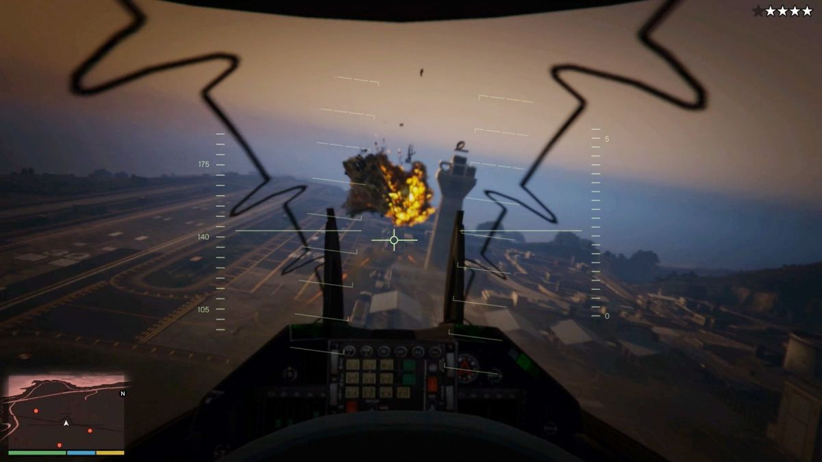Grand Theft Auto V Goes First Person
